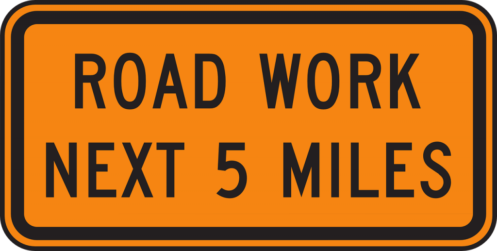 Digital Transformation: Road Work Next 5 Miles