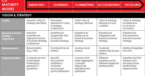 CX Maturity Model